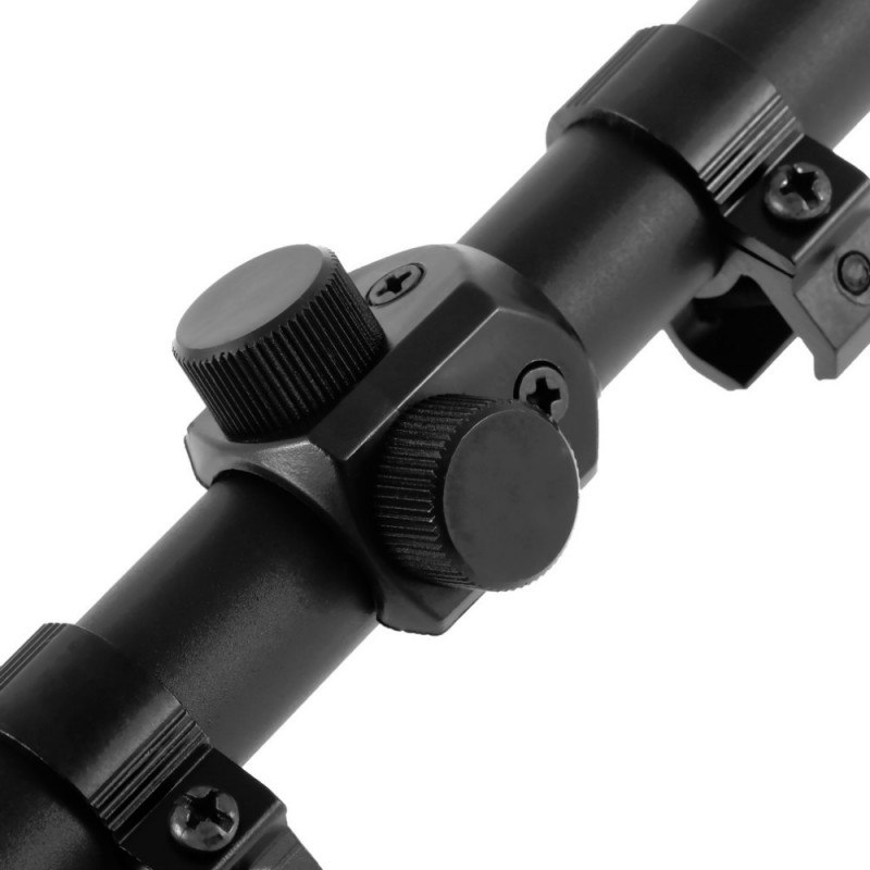 Most Popular 20x40 mmTactical Air Telescopic Scope Sight Hunting Rifle Scope Sniper Scope scopes Mounts 43BP