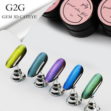 Girl2girl Nail Gel Polish 3D Gem Cateye Uv Gel Nail Polish Long Lasting Shinning High Quality Gel Official Store picturesque childhood official store 3 1 best quality footies long sleeve for newborns costumes hot sale