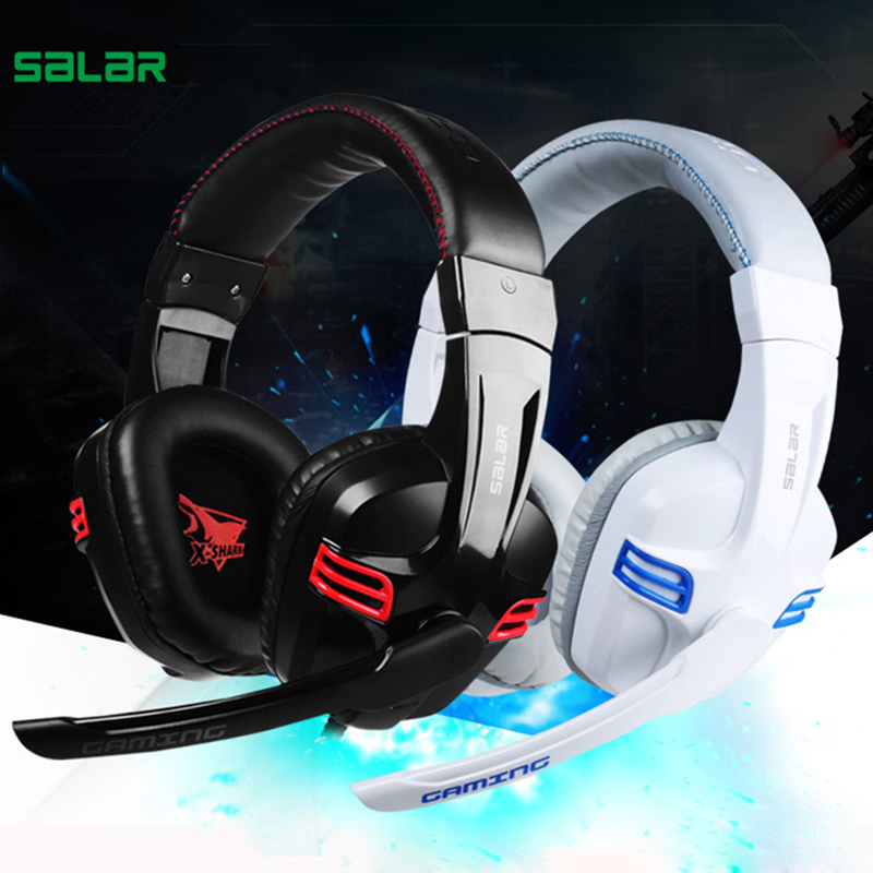 Computer PC Gaming headphones For PS4 PSP Mobile Phone Stereo Gamer Headset With Mic Laptop Earpiece 3.5mm Headband Big Earphone earfun brand big headphones with mic
