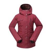 Женские зимние уличные Водонепроницаемый ветровка Сноубординг Лыжный Спорт Пальто сноуборд лыжная куртка для снежной погоды Для женщин