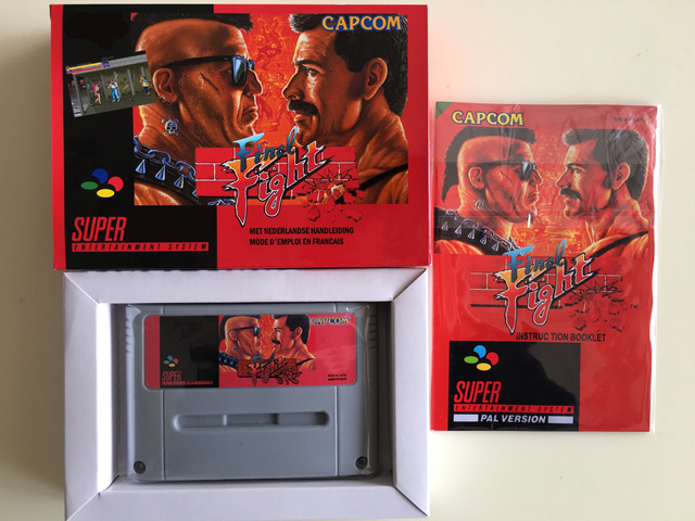 16Bit Spiele ** Schluss Kampf (PAL Version!! Box + Handbuch + Patrone!!)