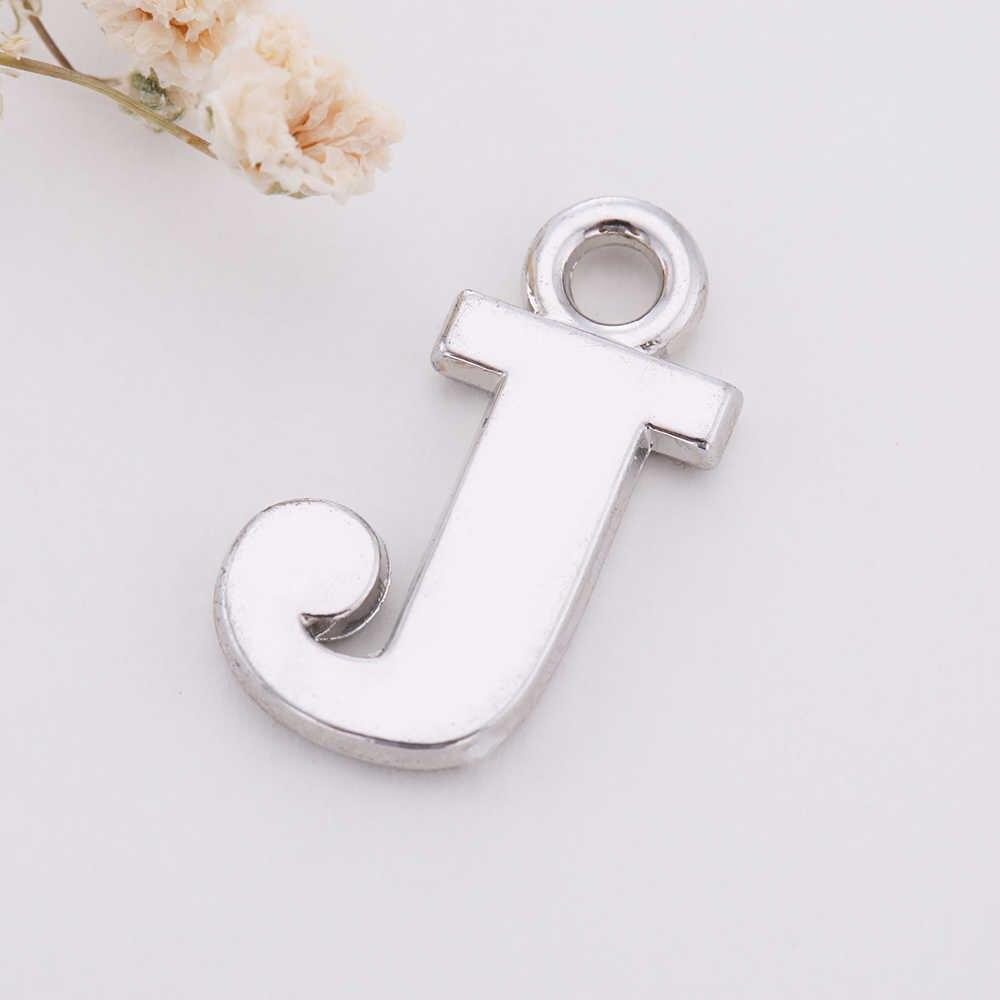 Skyrim 26 букв талисманы ювелирные изделия делая результаты Алфавит цинковый сплав кулон для DIY ожерелье браслет A B C D E F G H I J K L M