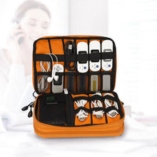2 Layer Digital Accessories Collection Bag Travel B