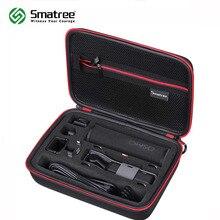 Étui Smatree pour poche DJI Osmo, étui de transport rigide Portable pour adaptateur Smartphone, filtres dobjectif, câble dalimentation