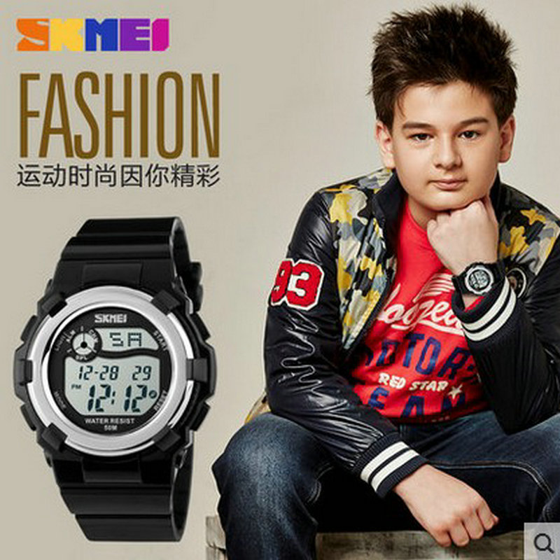 skmei cheap wrist watch for kids kids wrist watches in stock