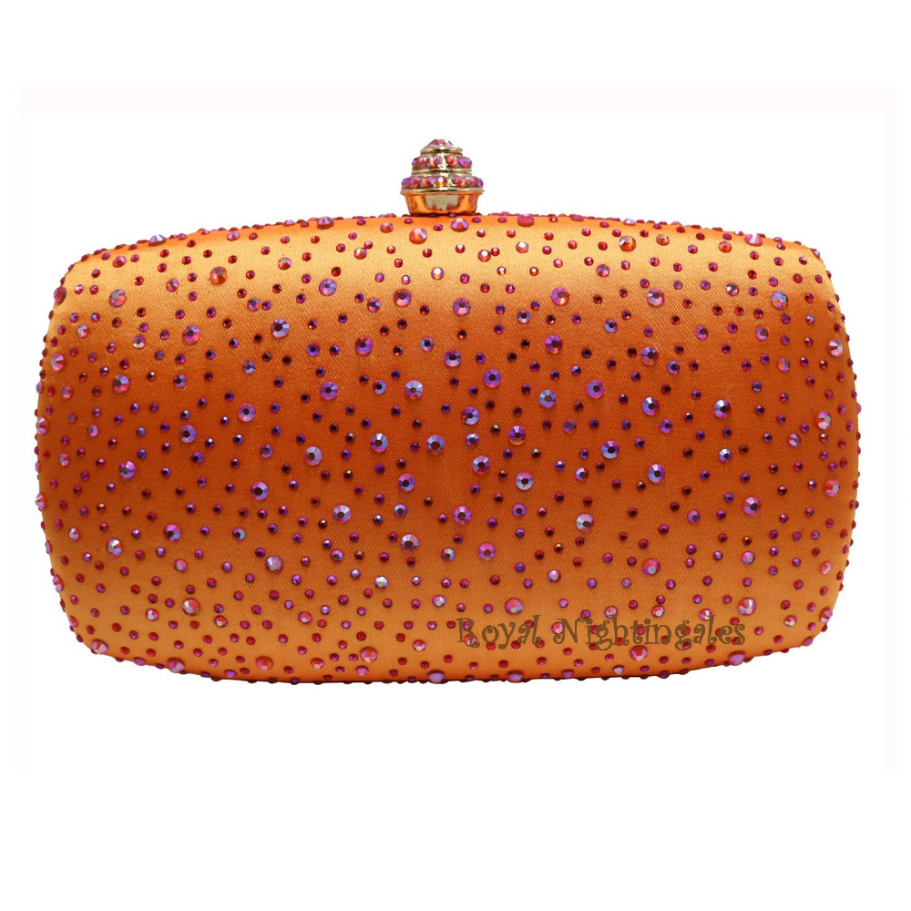 Popular Orange Clutch Bags-Buy Cheap Orange Clutch Bags lots from ...