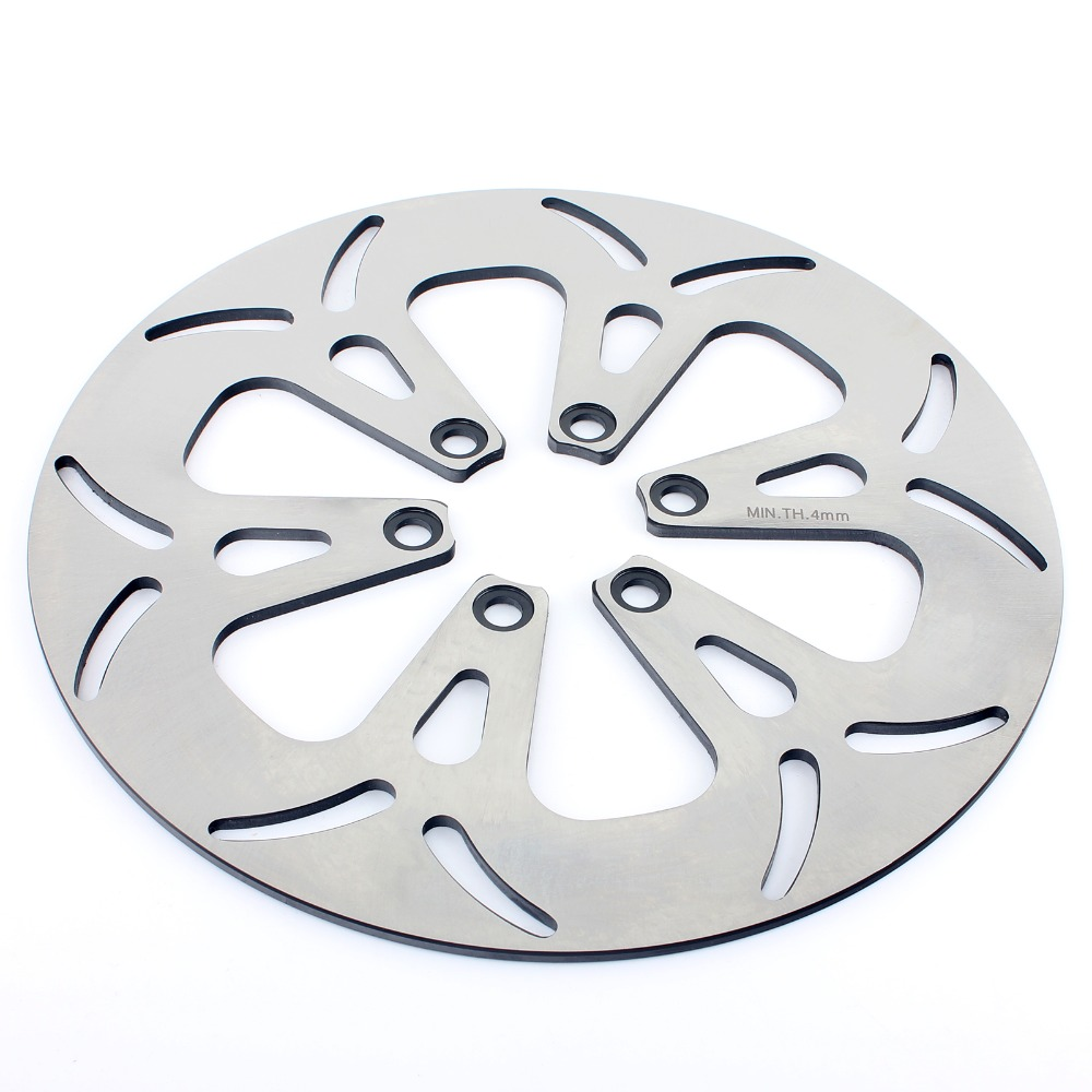 BIKINGBOY Round 295mm Front Brake Disc Disk Rotor For Suzuki VS 700 750 800 Intruder VS 1400 Boulevard S83 / Intruder for suzuki intruder 1400 1500 lc boulevard s83 c90 marauder 800 wing motorcycle foot pegs motorcycle part