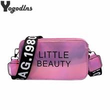 Fashion Laser Color Women Shoulder Bags INS Popular Girls Le