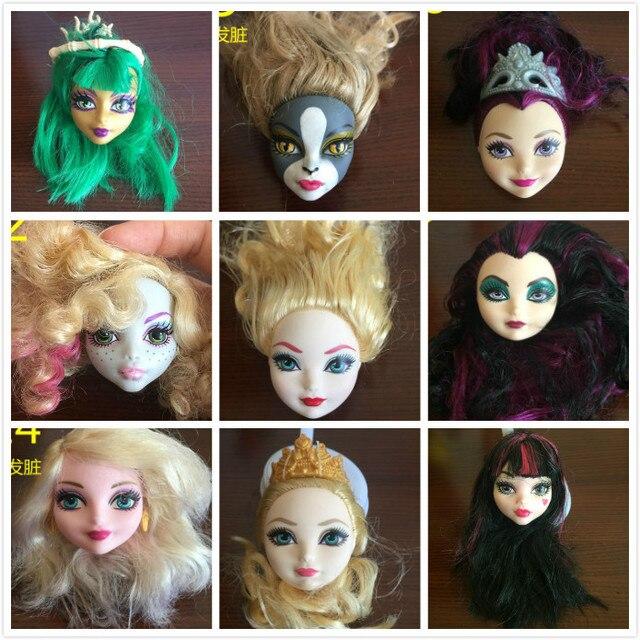 Miękkie Plastikowe Praktyka Makijaż Lalka Szef Szkolenia Dla Monster
