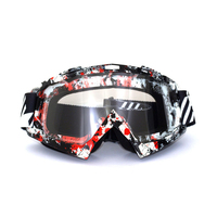 New Arrive Black White Clear Fly Racing Zone Pro Youth Goggles Dirt Bike Motocross Goggles Hot