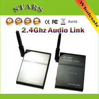 2.4G 2.4GHz Universal Stereo Wireless Music Companion Parter Audio Transmitter Receiver Speaker link Box Adapter,Free Shipping