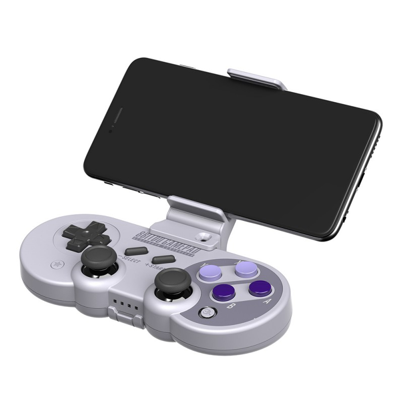 Mobile Gaming Stands Smartphone Clip Joystick Cellphone Extender Stand Holder For 8Bitdo SN30 Pro SF30 Pro Bluetooth Gamepad