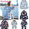 2016 Bobo Choses children clothing sets  Kids Rabbit Sweatshirts T shirt haren pants For Baby Boys Girls Nununu Tops vestidos