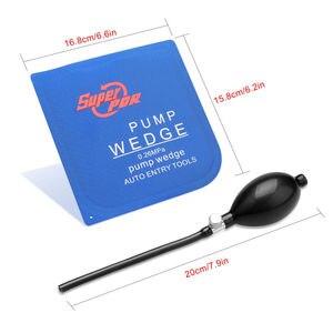 Image 3 - 50 sztuk PDR airbag pump wedge narzędzia do otwierania samochodu do zamka drzwi samochodu poduszki pompy klin klin powietrzny do użytku w samochodzie blokada narzędzia do otwierania
