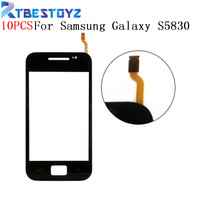 RTBESTOYZ 10PCS/Lot Touch Screen Sensor For Samsung Galaxy Ace S5830 S5830i GT S5830 Window Glass Digitizer Touchscreen Parts