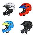 Полностью покрытый детский шлем  Балансирующий велосипед  детский шлем с полным лицом  велосипедный шлем для мотокросса  безопасный шлем