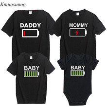 Father Son Boys Kids T Shirts Family Matching Outfits 2019 Look Clothes Short Sleeve Tops Costumes C0375