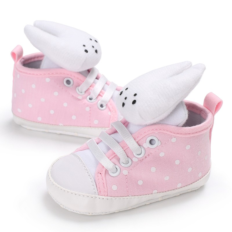 Newborn Baby Girl Lovely Cute Rabbit Shoes First Walker Infant Lovely Animal Casual Soft Bottom Shoes