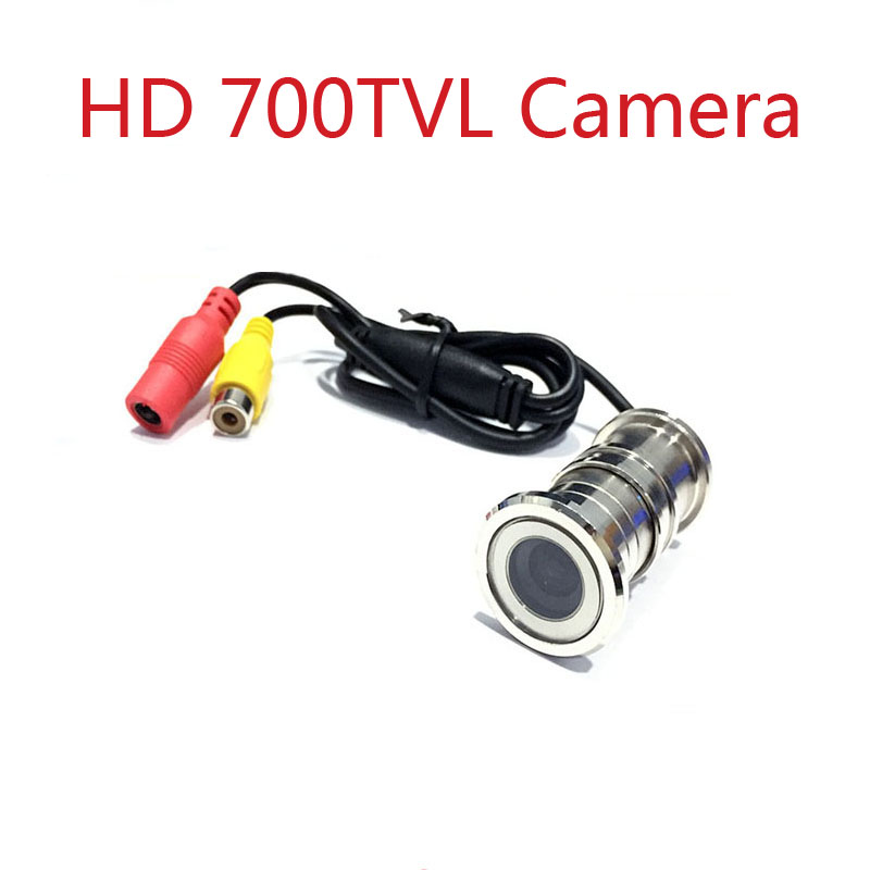 HD kamera e re HD700TVL Cat Cat Eye Door Security Kamera 1/4 CMOS 3.6 mm / 2.8mm cephv cctv