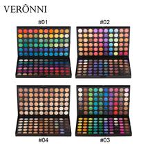 2019 professional New Gliltter Eyeshadow Palette of Eye Shadow Pallete VERONNI 120 Colors Make Up eyeshadow Cosmetic