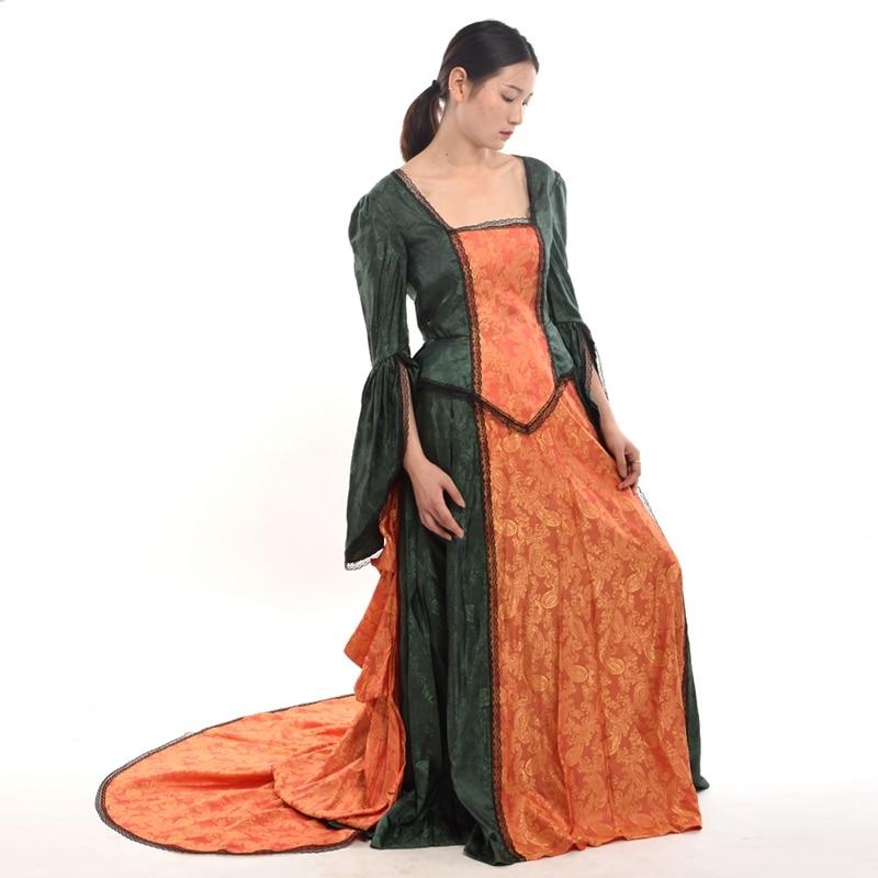 Վերածննդի զգեստ Vintage Վիկտորիանական - Կարնավալային հագուստները - Լուսանկար 1