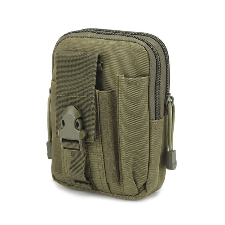 Hunting Molle Belt Pouch EDC Waist Bag Military Phone Utility Holster Tactical Pocket Pack For Camping Climbing -Emergency Kits