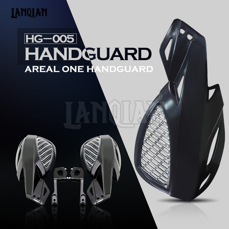 Universal Motorcycle Accessories Hand guard Motorcycle <font><b>Plastic</b></font> Handguard 22mm For <font><b>HONDA</b></font> <font><b>CRF</b></font> 250 <font><b>450</b></font> 250X 45X KTM For dirt bike image