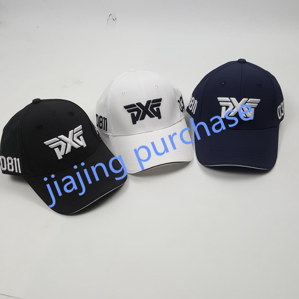 2982ce6b905 PXG Golf Cap Baseball Cap Outdoor Hat Tri color New Golf Cap Sun Hat Free  Shipping-in Golf Caps from Sports   Entertainment on Aliexpress.com