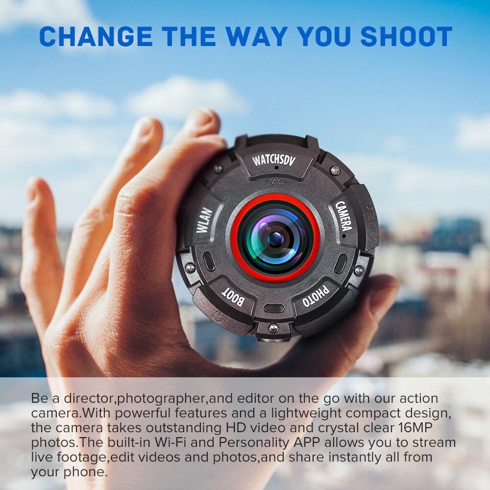 Dashcam WIFI Mini Kamera Für Sport Action DVR Dash Kamera Full HD 30M Wasserdichte Uhr Camara DV Camcorder Wearable auto Kamera - 3