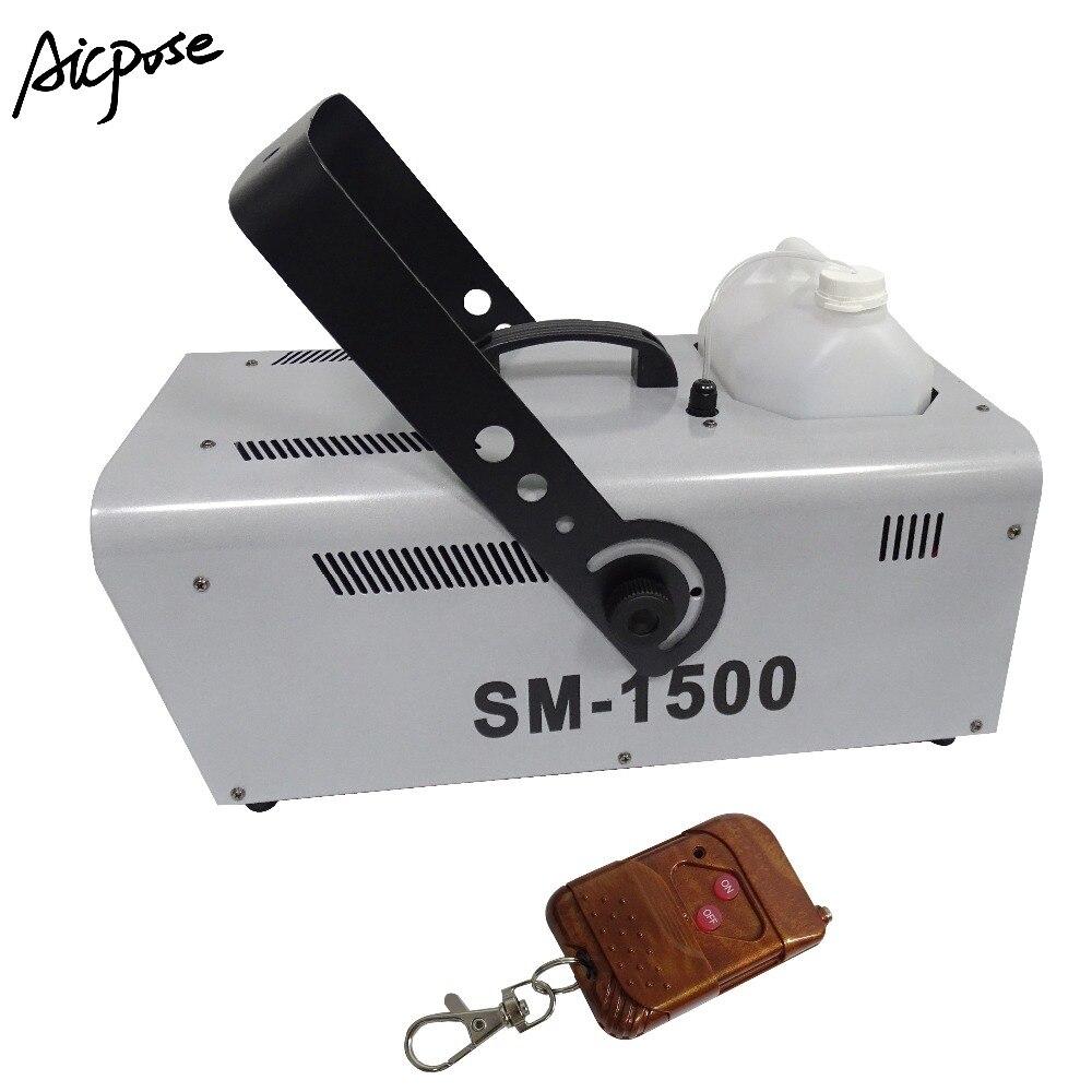 Machine spéciale d'effet d'étape 1500 W Machine de neige Machine d'effet de mousse de savon de neige de jet de fabricant de neige pour l'exposition de mariage de Disco