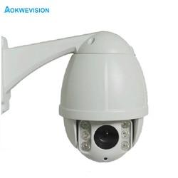 Tanie 2MP 1080P na zewnątrz IP66 IP Mini kamera PTZ 10X Zoom optyczny 60M IR Dome kamera do monitoringu CCTV