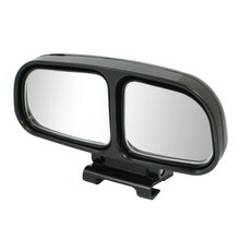 Promotion! Left Side Rear View Blind Spot Auxiliary Mirror Black for Truck Car