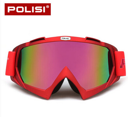 POLISI Motocross Off-Road Goggles Motorcycle Dirt Bike ATV MBX Downhill Ski Glasses Airs ...