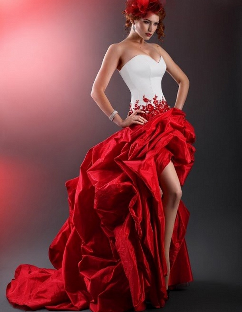 Compare Prices on Sexy Red Wedding Gowns- Online Shopping/Buy Low ...