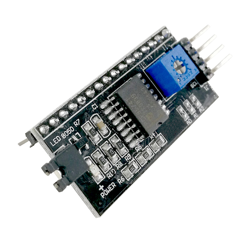Image 4 - MCIGICM 1602 2004 LCD Adapter Plate IIC,I2C / Interface lcd1602 I2C LCD Adapter Hot sale-in Integrated Circuits from Electronic Components & Supplies