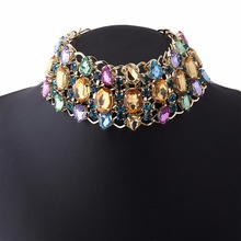Wide Luxury Choker