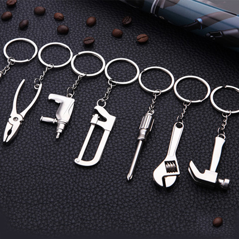 Funny brave dildo sexual humor engraved stainless steel keyring keychain