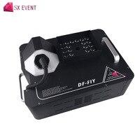 1500 Вт машина вверх туман с 24 шт. светодиодный эффект дыма машина провод и Беспроводной DMX Управление оборудование для DJ KTV