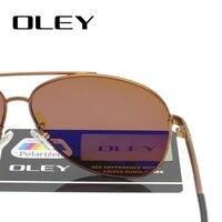 OLEY Classic Pilot Sunglasses 4