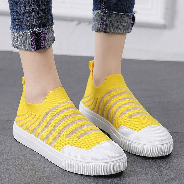 Best Buy Socken schuhe für Frauen Turnschuhe Atmungsaktive