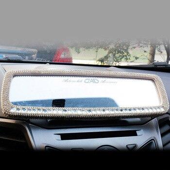 Car Rhinestone Rear View Mirror 1