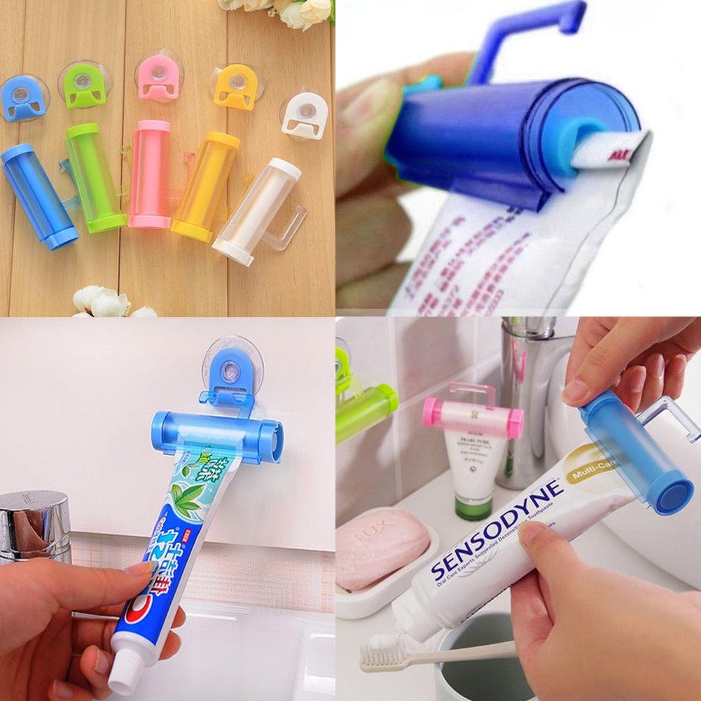Toothpaste Squeezer Toothpaste Tube Dispenser Clip Cleanser Extruder  LJ
