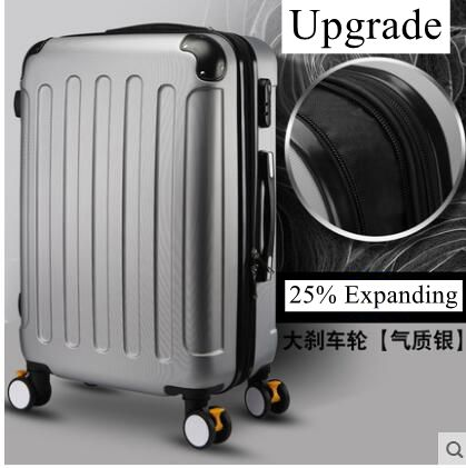 ФОТО Brand 20 inch 22 24 inch Rolling Luggage Suitcase Boarding Case travel luggage Case Spinner Cases Trolley Suitcase wheeled Case