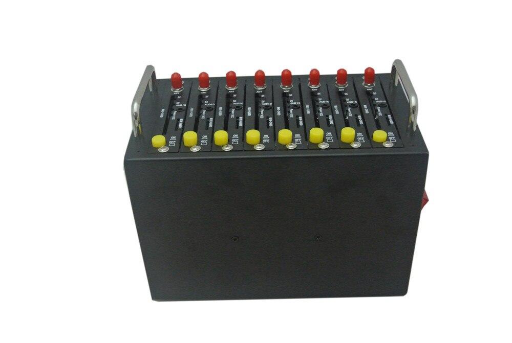 8 портов WCDMA SIMCOM пул модемов 3G Модем смс Низкая цена Multi sim-модем sim5360