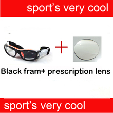 Children Optical Prescription Polycarbonate Safety Glasses For Football Soccer Players Protect Eye injured