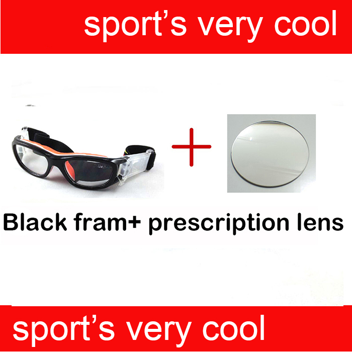 Children Optical Prescription Polycarbonate Safety Glasses For Football / Soccer Players Protect Eye injured
