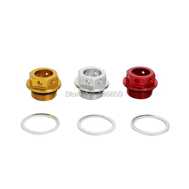 CNC de Alumínio do Parafuso de Drenagem Do Óleo Do Motor Magnético/Plug Para a Ducati 999/749/996/748/Monster/696/Multistrada 620/1000/1100