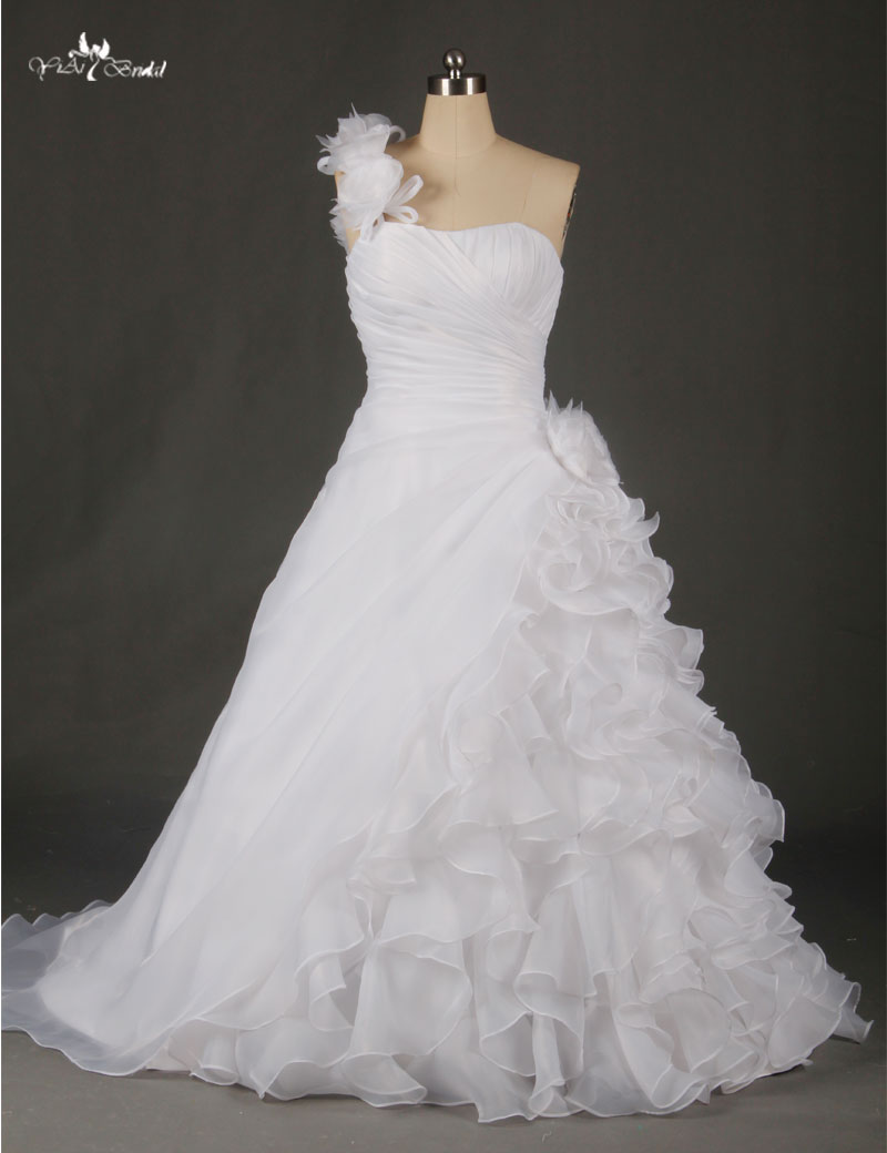 RSW46 Factory Outlet Lastest Beautiful Handmade Organza Flowers ...