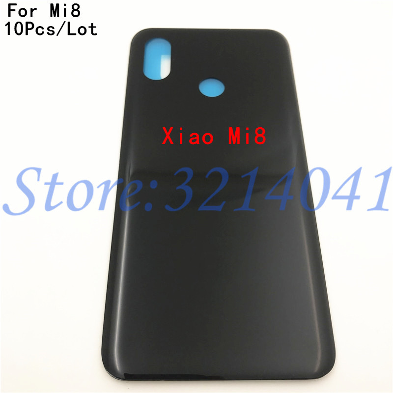 10Pcs For <font><b>Xiaomi</b></font> Mi8 <font><b>Battery</b></font> <font><b>Cover</b></font> Back Glass Rear Door Housing Case For <font><b>Xiaomi</b></font> <font><b>Mi</b></font> <font><b>8</b></font> SE <font><b>Battery</b></font> <font><b>Cover</b></font> 8SE <font><b>8</b></font> Lite Explorer+Logo image