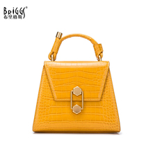 цены BRIGGS small Shoulder bag women fashion tote bag Luxury Handbags Designer messenger bag ladies high quality pu leather sac main